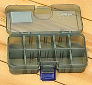 138*77*31MM Army Green Fishing Box Tackle Box