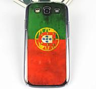 Vintage Pattern Bandeira Argentina volta caso PC para Samsung S3/I9300