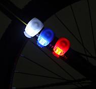 3-Mode de la rana de ojos de luz láser de bicicletas (Assortted colores)