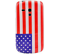 US National Flag Pattern Hard Back Cover Case for Samsung Galaxy S3 Mini I8190