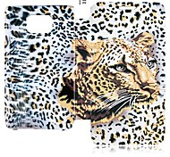 Leopard Series Leather Full Body Case for Samsung Galaxy S2 I9100 (Assorted Color)