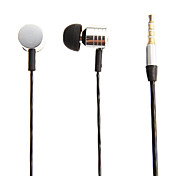 M2 3.5mm In-Ear Bass Stereo Headphones with Mic for Samsung&iPhone&Sony&HTC Cell Phones&Tabs
