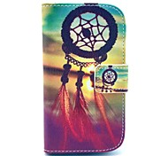 Dream Catcher Pattern PU Leather Case with Card Slot and Stand for Samsung Galaxy S3 mini I8190