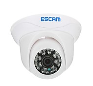 Escam Slak QD500 H.264 Dual stream 3.6MM dag / nacht waterdichte dome IP-camera en ondersteuning Mobile Detection
