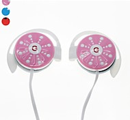 GENIPU GNP-8806 3.5mm Hi-fi Stereo Music Clip-on Earphone