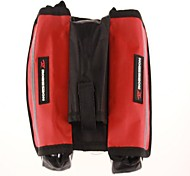 Bicycle Polyester Saddle Bag Multiplay Bilateral Bag Red Kit