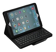 Lichee Pattern Case w/ Bluetooth Keyboard for iPad Air