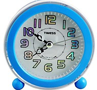 Timess™  Laser Blue Light Chord Music SNOOZE Mute Alarm Clock