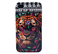 Tribe Tiger Open-Face Strong Hard Skin Case for iPhone 4/4S