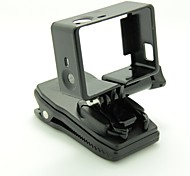GP170 Egamble Black 360 Degree Rolate Fast Release Plate Clamp with Protect Frame for Gopro Hero 3