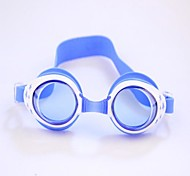Children's  Can Adjust Swimming Glasses Anti Fog and Anti Ultraviolet with Earplugs Deep Blue