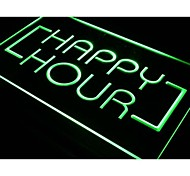 i530 Happy Hour Bar Coffee Open Beer Pub Neon Light Sign