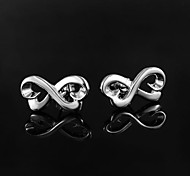 Fashion Design Silver Plated Earring