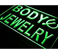 i540 Jóias Body Piercing Shop Bar Luz Neon Sign