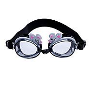 Zodiac Mouse Children's Waterproof Anti-Fog Swimming Goggles