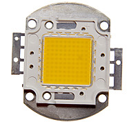 DIY 100W High Power 8000-9000LM Warm Modulo luce bianca LED integrato (32-35V)