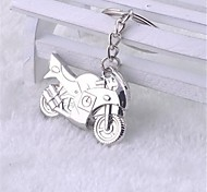 Beautiful Guitar Like Cool Plane Model Motorcycle Stainless Steel Keychain