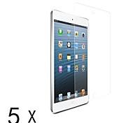claro protector ultra-lcd pantalla guardia para Mini iPad 3 Mini iPad 2 iPad mini (5 piezas)