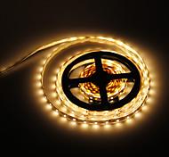 Los 5M 24W 300x3528SMD 3000-3500K luz blanca cálida Lámpara LED Strip (12V DC)