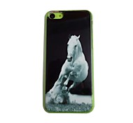 Horse Pattern PC Back Case for iPhone 5C