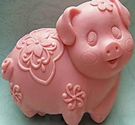 Pig  Shaped Bake Mold, W9cm x L8cm x H3.8cm