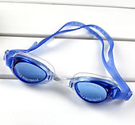 Kid's Silica Gel UV Protective Swimming Goggles - Blue