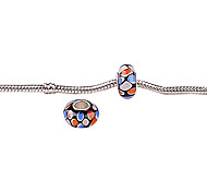 Multicolor Art Grass Acrylic DIY Bead Big Hole for Bracelet and Necklace