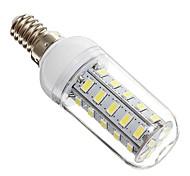 E14 7W 36x5730SMD 650LM 6000-6500K bombilla blanca fresca del maíz del LED (220)