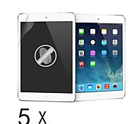[5 Pack] High Quality Anti-Fingerprint Schutzfolie für iPad Luft