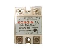 KONGIN KG-25DA 24-380VAC Relé de Estado Sólido