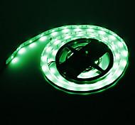 Los 5M 36W 150x5050SMD Green Light Lámpara LED Strip (12V DC)