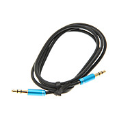 3.5mm 1 M 3,3 pies Cable de audio auxiliar Aux Jack macho a macho Cable