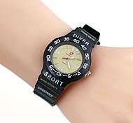 Men's Casual Style Silica Gel Wrist Watch(1pc)
