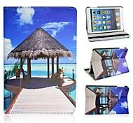 un diseño de pabellón en el caso de playa para Mini iPad 3, iPad Mini 2, mini ipad