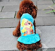 Bear modello Princess Dress for Dogs (colori assortiti XS-L)
