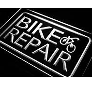 Fahrrad-und Reparaturdienstleistungen Neonlicht-Zeichen