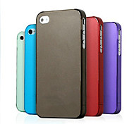 ichange 0.4mm Ultra-silm Open-face Plastic Case for iPhone 4/4S(Assorted Color)