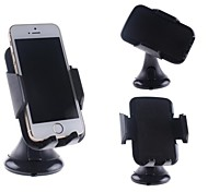 Unique Design In Car Universal Mount for iPhone, Samsung Cellphones and Others(Black)