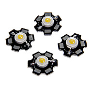 ZDM™ 1W High Power Warm White Color LED Module with Aluminum PCB (3.0-3.4V,5PCS)