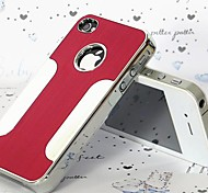 JOYLAND Blade Runner Metal Finish Metal Back Cover for iPhone 4/4S (Assorted Color)