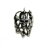 Fashion Stainless Steel Ring  Skeletons002