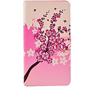 Pretty Plum Blossom Pattern Leather Full Body Hard Case with Stand for Samsung Galaxy Note3 N9000