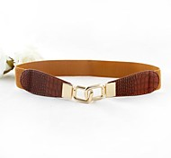 Women Skinny Belt , Party/Work/Casual Alloy