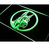 i670 Great Dane Dog Enseigne Lumineuse Light Sign