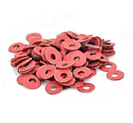 M3 Insulating Spacer Washer - Red (100 PCS)