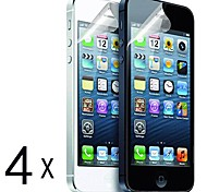 [4-Pack] High Quality Matte Anti-Glare Screen Protectors for iPhone 5/5S