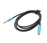 1M 3.3FT Auxiliary Aux Audio Cable 3.5mm Jack Male to Female Cord