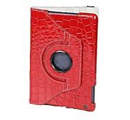 360 gradi di rotazione caso del coccodrillo per ipad mini 3, Mini iPad 2, iPad mini (colori assortiti)
