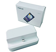 White Cradle Dock Phone Charger for Samsung Galaxy S4 i9500
