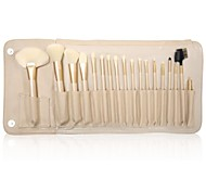18PCS Makeup Brushes Cosmetic Eyebrow Lip Eyeshadow Brushes Set with Case